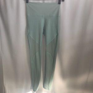 Aerie light blue teal leggings